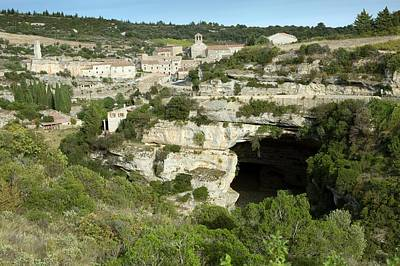 Minerve And River Cesse Art Print by Bob Gibbons