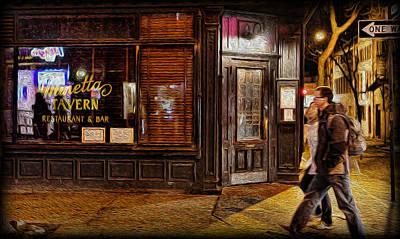 Photograph - Minetta Tavern by Lee Dos Santos
