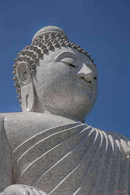 Photograph - Ming Mongkol Buddha Big Buddha Of Phuket Dthp041 by Gerry Gantt
