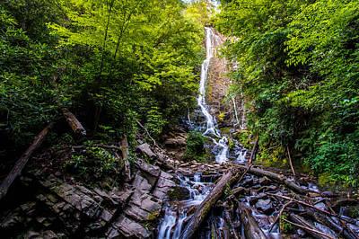 Photograph - Mingo Falls by Randy Scherkenbach
