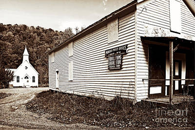 Photograph - Mingo Post Office And Foxhill Farms General Store by Kathleen K Parker