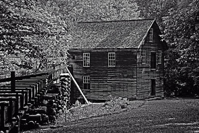 Photograph - Mingus Grist Mill by Andy Crawford