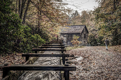 Photograph - Mingus Mill by Alex Banakas