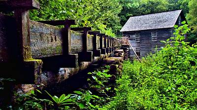 Photograph - Mingus Mill by Carol Montoya
