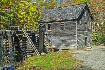 Photograph - Mingus Mill Great Smoky Mountain National Park by Willie Harper