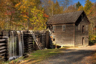 Photograph - Mingus Mill by Jonas Wingfield