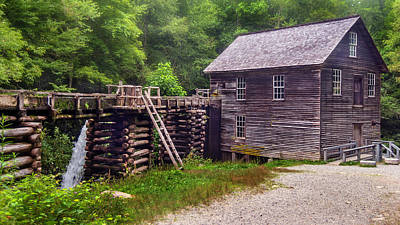 Photograph - Mingus Mill by Lisa and Norman  Hall