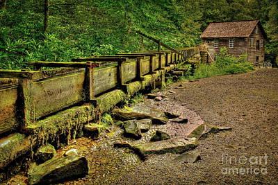 Mingus Photograph - Mingus Mill Mingus Creek Great Smoky Mountains Art by Reid Callaway