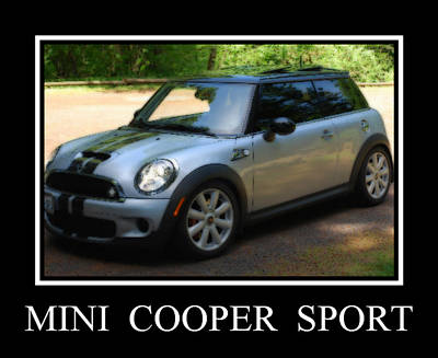 Photograph - Mini Cooper Sport by Kathy Sampson