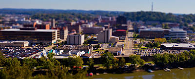 Photograph - Mini Downtown Parkersburg by Jonny D