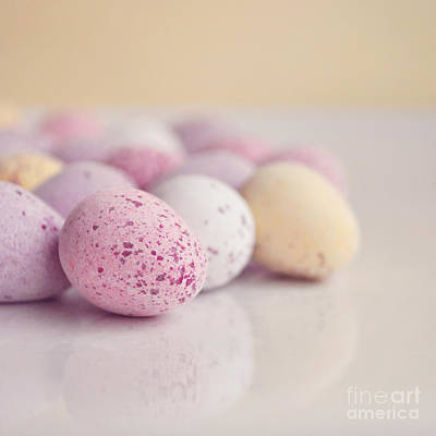 Mini Easter Eggs Art Print by Lyn Randle