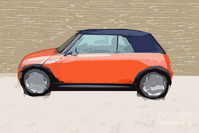 Mini Makeover Art Print by Bruce Stanfield