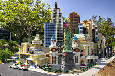 Photograph - Mini Nyny Casino by Ricky Barnard