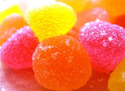 Mini Sugar Fruits Art Print