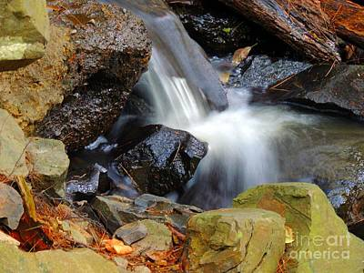 Photograph - Mini-waterfall by Marcia Lee Jones