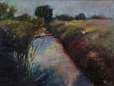Painting - Miniature # 4 by Helen White