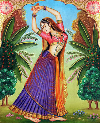 Painting - Miniature by Mayur Sharma