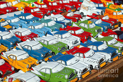 Miniature Oldsmobiles Art Print
