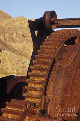 Photograph - Mining Equipment In Death Valley by Dan Suzio