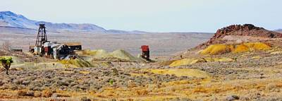 Photograph - Mining Site Nevada by Marilyn Diaz
