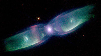 Photograph - Minkowskis Butterfly, Planetary Nebula by Science Source