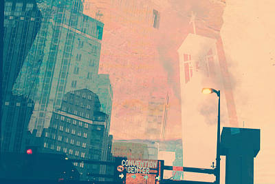 Convention Digital Art - Minneapolis Art by Susan Stone