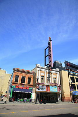 Photograph - Minneapolis - Bar And Theater by Frank Romeo