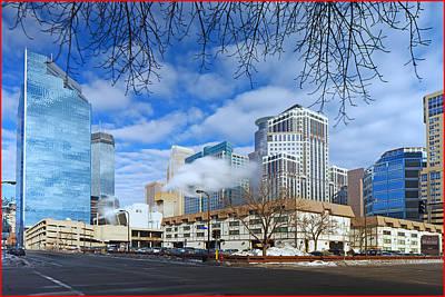 Photograph - Minneapolis Downtown by Fuad Azmat
