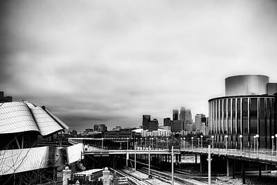 Minneapolis From The University Of Minnesota Art Print