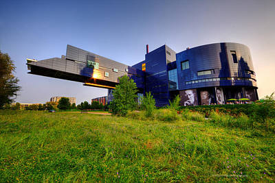 Commercial Art Photograph - Minneapolis Guthrie Theater Summer Evening by Wayne Moran