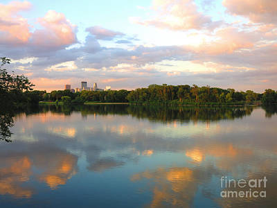 Photograph - Minneapolis Lakes by Heidi Hermes