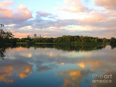 Minneapolis Lakes Art Print