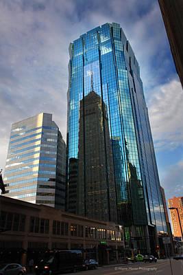 Minneapolis Skyline Photography Foshay Tower Art Print by Wayne Moran
