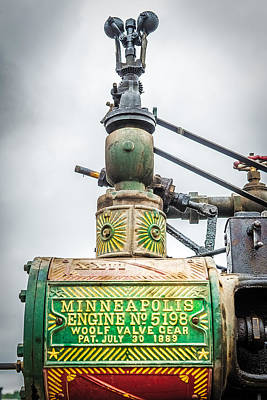 Woolf Photograph - Minneapolis Steam Engine by Paul Freidlund