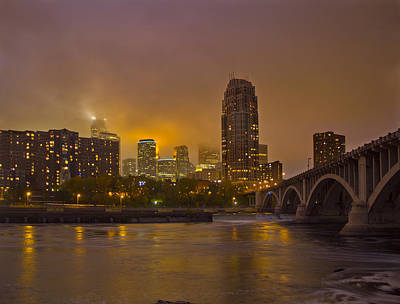 Photograph - Minneapolis Sunset by Garry McMichael
