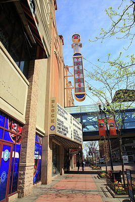 Photograph - Minneapolis - Theater District by Frank Romeo