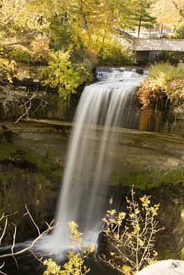Minnehaha Falls Photograph - Minnehaha Falls by Allison Jennings