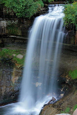 Photograph - Minnehaha Falls by Kristin Elmquist