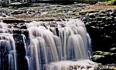 Photograph - Minneopa Falls Upper by Mark Russell