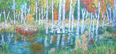 Painting - Minnesota Autumn by Carolyn Donnell