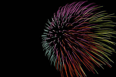 Minnesota, Mendota Heights, Fireworks Art Print by Bernard Friel
