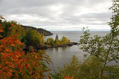 Photograph - Minnesota North Shore by Cascade Colors