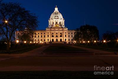 Minnesota State Capitol Art Print by Kevin Jack