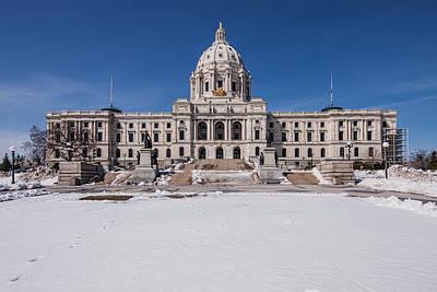 Winter Animals - Minnesota State Capitol  by Tom Gort