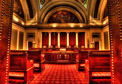 Minnesota Supreme Court Art Print