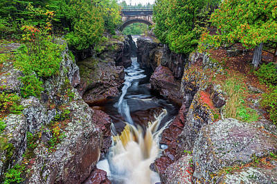Temperance River Photograph - Minnesota, Temperance River State Park by Jamie and Judy Wild