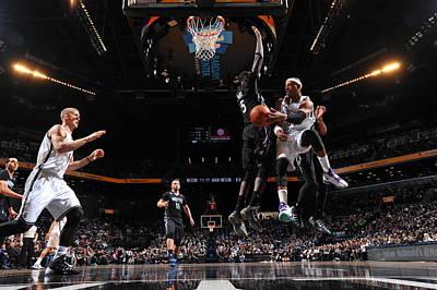 Photograph - Minnesota Timberwolves V Brooklyn Nets by Jesse D. Garrabrant