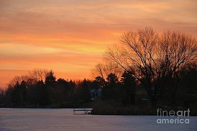Photograph - Minnesota Winter Dawn by Jennie Stewart
