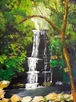 Minnumurra Falls Art Print