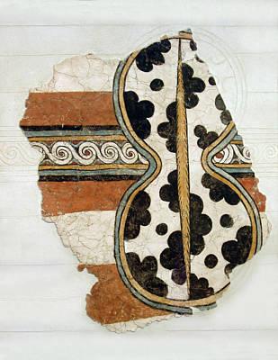 Photograph - Minoan Livestock Painting by Ellen Henneke